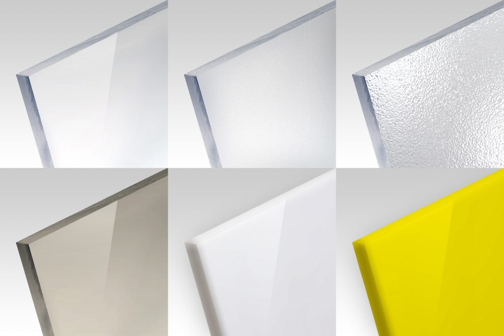 Acrylglas - Plexiglas - Polycarbonat